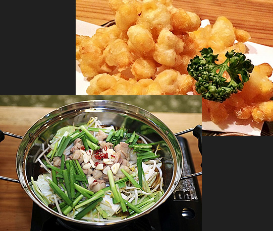 旬の料理から創作料理まで豊富な品揃え