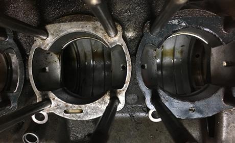 エンジン内に堆積するカーボン汚れ